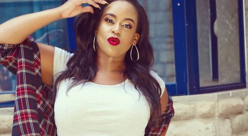 Kamene kwani wewe ni Lesbian? – fan questions Kamene Goro after posting this Photo