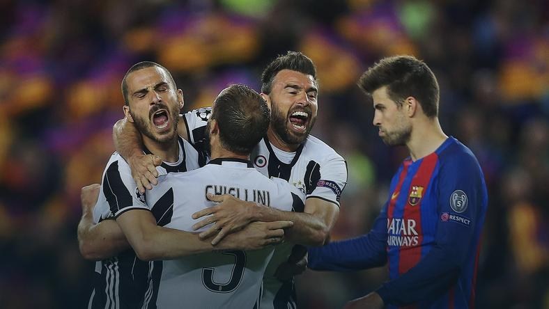 FC Barcelona - Juventus