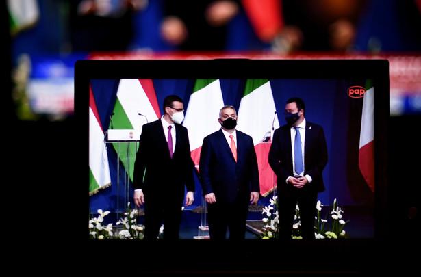 Mateusz Morawiecki, Viktor Orban, Matteo Salvini