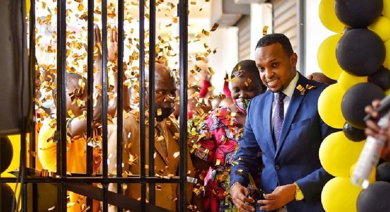 Photos from the launch of Comedian Crazy Kennar's Restaurant