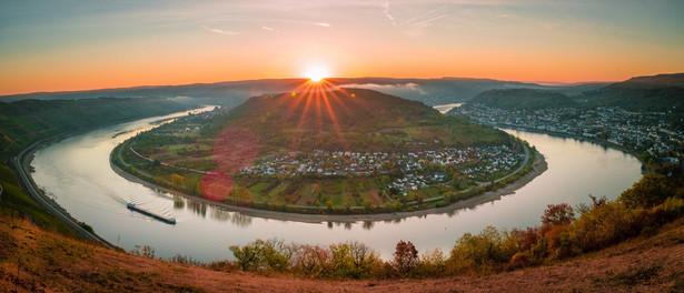 Rzeka Ren, Niemcy
