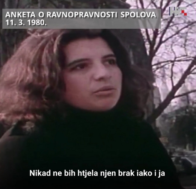 Anketa o ravnopravnosti polova 1980. u Hrvatskoj