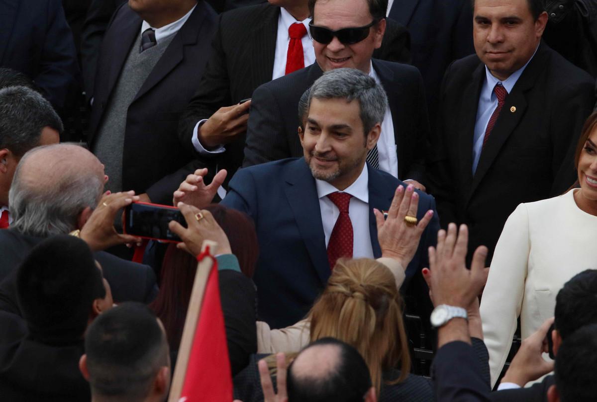 Predsednik Paragvaja Mario Abdo Benites polozio zakletvu