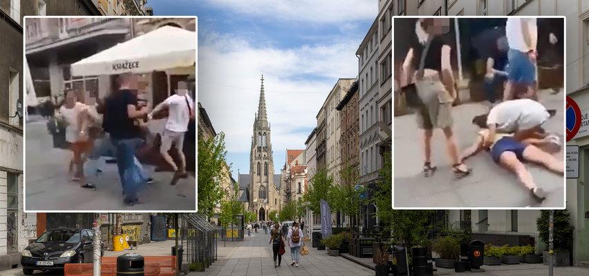 Szokujące sceny w Katowicach. Skatował kobietę i uciekł
