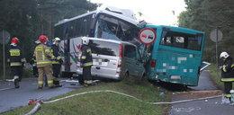 Kierowca busa, w który uderzył rozpędzony autobus: To cud, że nikt nie zginął!