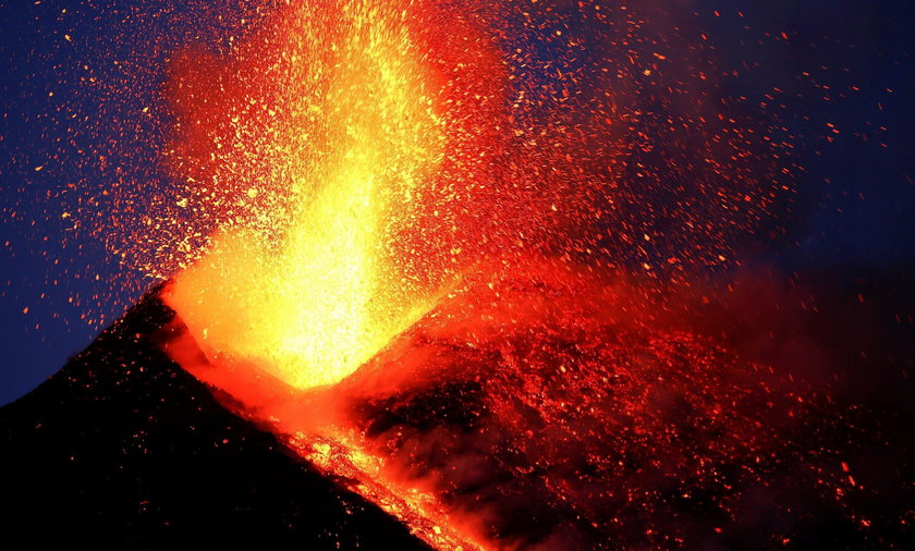 Przebudzenie wulkanu Etna