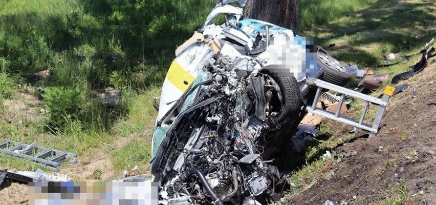 Tragedia na drodze! W zderzeniu z ciężarówką nie miał szans [FILM]