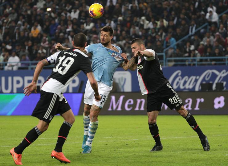 Detalj sa meča Juventus - Lacio