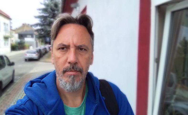 Zdjęcie wykonane telefonem Alcatel 1S - tryb portretowy