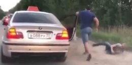 Wyrzucił puszkę z samochodu. Kierowca zareagował