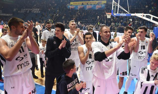 Košarkaši Partizana su u seriji od tri pobede