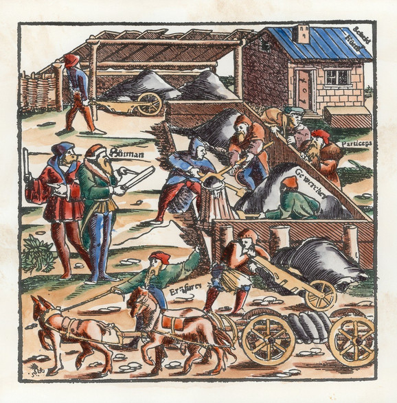 Rudnici su uslovili nastanak naselja i razvoj trgovine