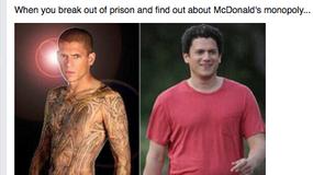Wentworth Miller odpowiedział na memy, które wyśmiewają jego nadwagę