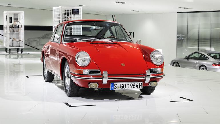 Porsche 911 (901) z 1964 r. po renowacji