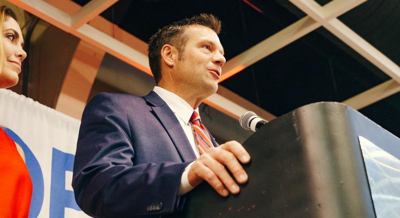 Kris Kobach announces bid for Kansas Senate seat