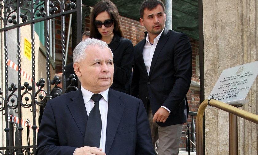Jarosław Kaczyński i Marcin Dubieniecki