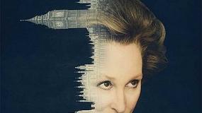 Meryl Streep jako Margaret Thatcher: plakat filmowy