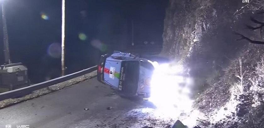 Rajd Monte Carlo: Hayden Paddon miał wypadek. Nie żyje 50-letni kibic