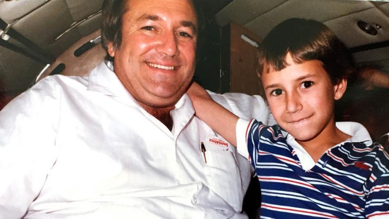 Barry Seal z synem Deanem