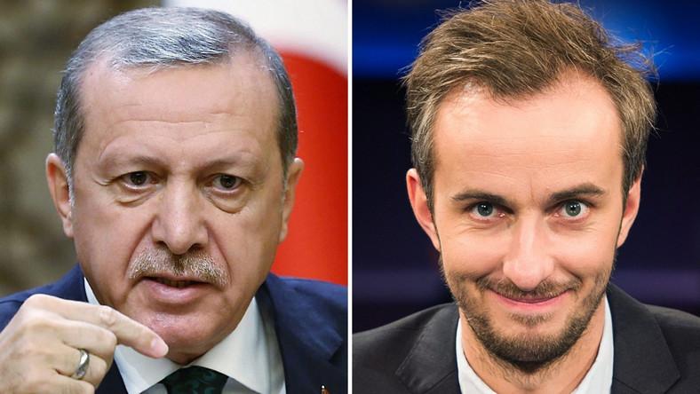 Recep Tayyip Erdogan i Jan Boehmermann