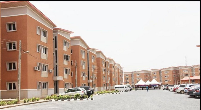 One of the largerly unsubscribed  Housing Estate in Lagos (Premium Times)