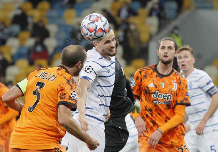 Detalj sa utakmice Dinamo Kijev - Juventus