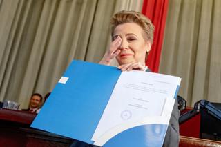 Hanna Zdanowska zaprzysiężona na prezydenta Łodzi