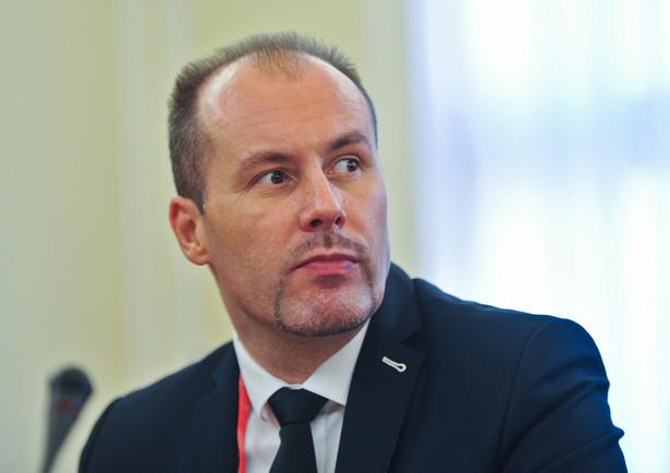 Konrad Raczkowski wiceminister finansów