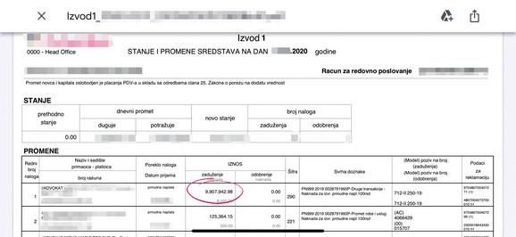 Investitor je vratio Jasniću sumu od 80.000 evra uplatom na račun njegovog advokata