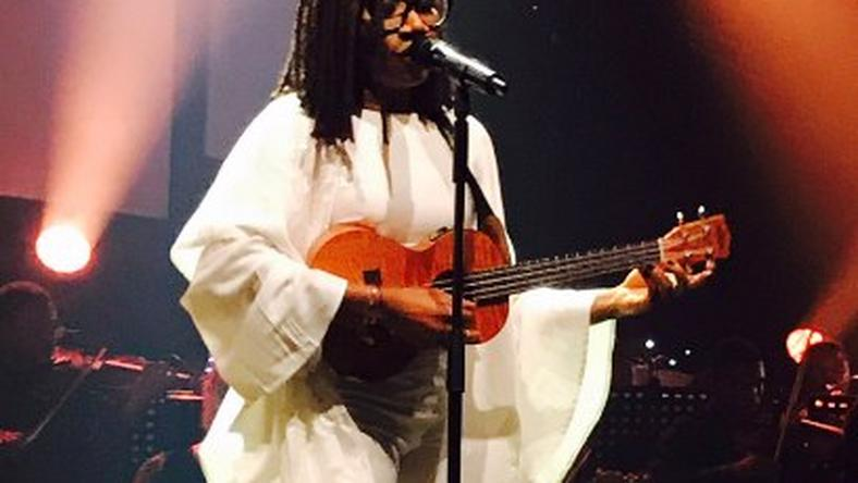 Asa at her Live In Lagos Encore show