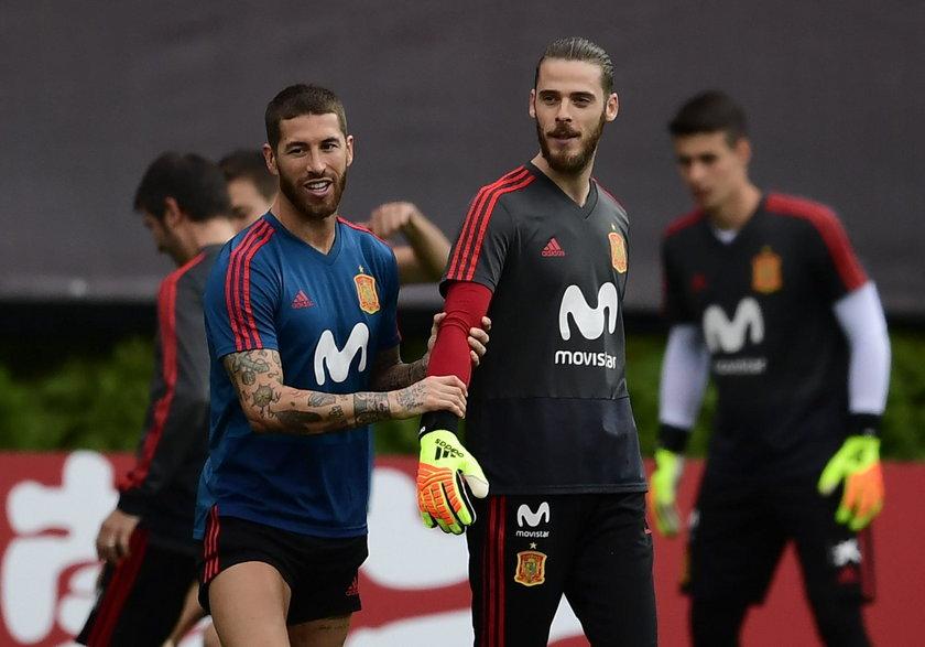 Sergio Ramos i David De Gea