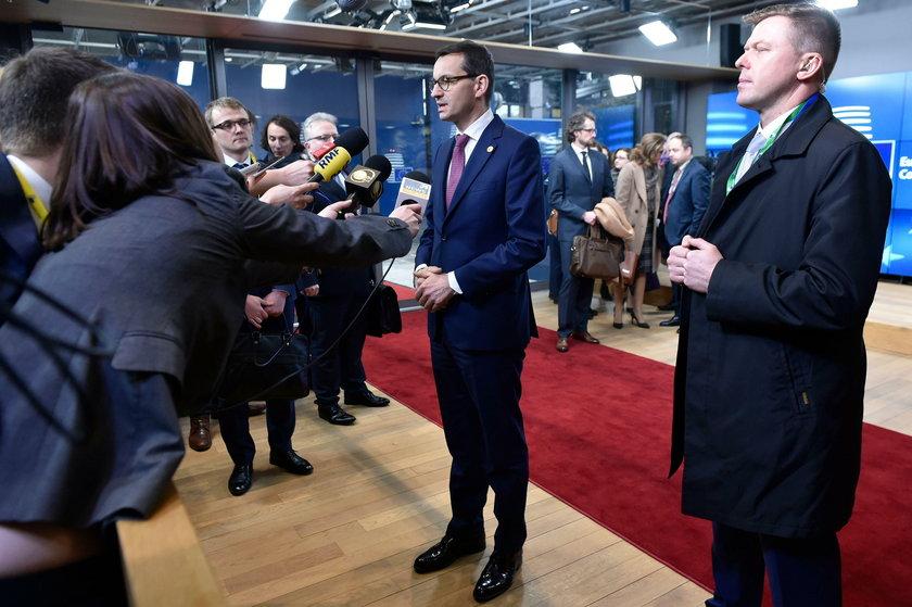Morawiecki już w Brukseli. Plan spotkań jest imponujący