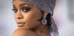 Rihanna w BARDZO prześwitującej kreacji