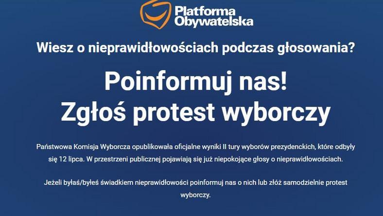 Protest wyborczy