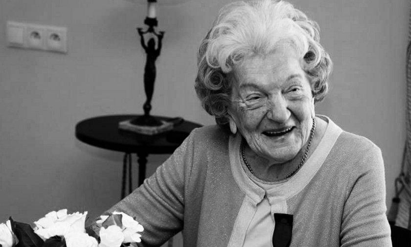 Maria Czernek nie żyje. Miała 100 lat. Była wdowa po policjancie zamordowanym w 1940 roku przez Sowietów