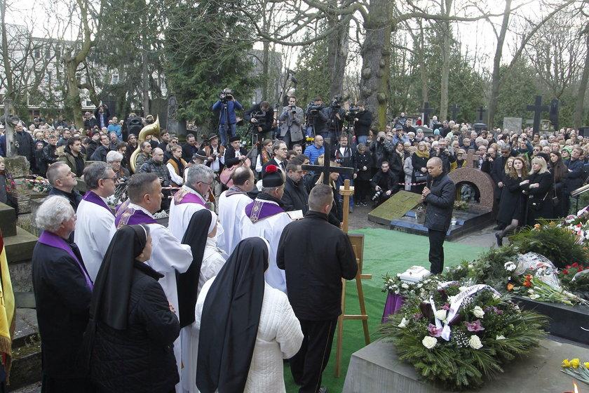 Pogrzeb Wojciecha Młynarskiego