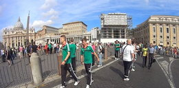 Piłkarze Legii zwiedzali Watykan