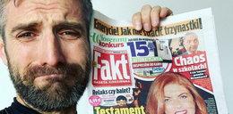 Maciej Dowbor nie doczytał gazety? Teraz płacze, że nie dostanie spadku