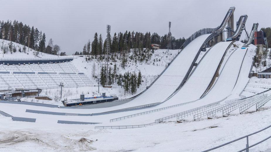 Kompleks skoczni narciarskich w Lahti