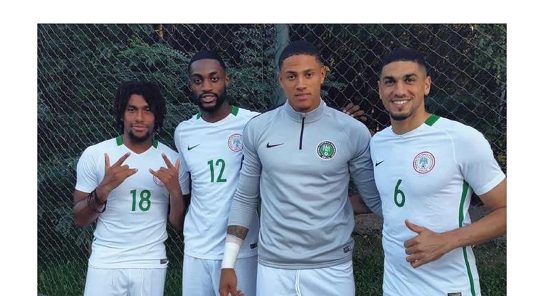 Super Eagles are in camp ahead of the Tuesday friendly game against Ukraine.