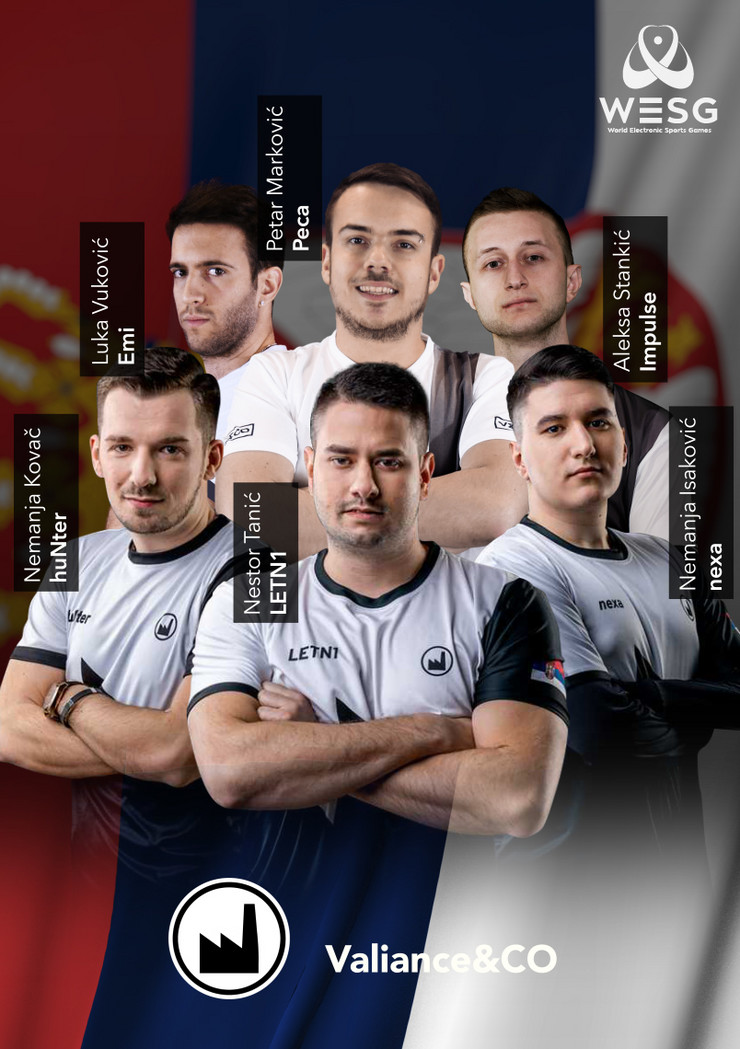 WESG-Tim Srbija
