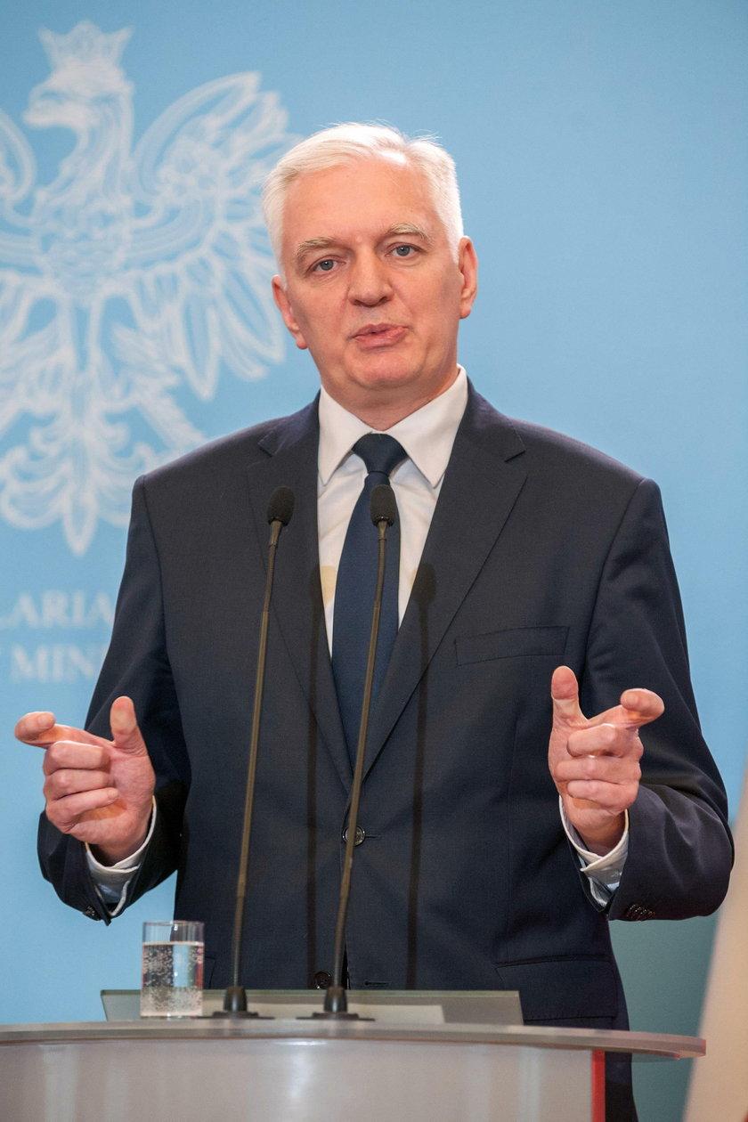 Jarosław Gowin o budżecie i piątce Kaczyńskiego