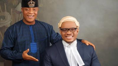 Bright Chimezie's son graduates from the Nigeria Law School