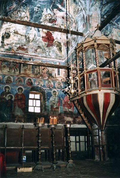Wnętrze cerkwi św. Mikołaja