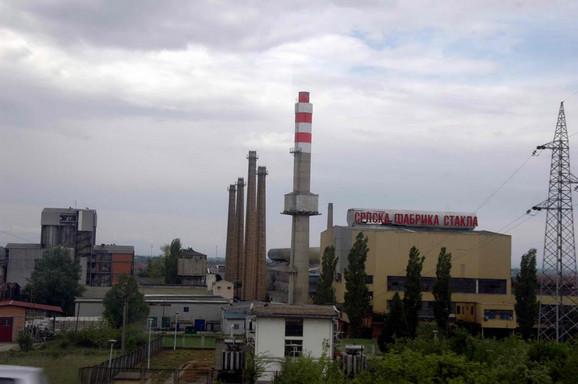 Fabrika stakla u Paraćinu