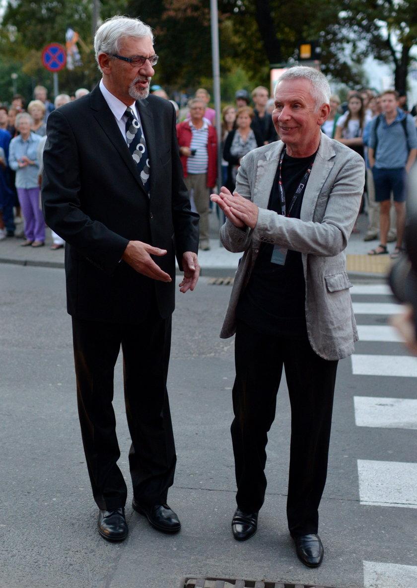 Wiktor Zborowski i Krzysztof Materna
