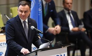 Trump w przemówieniu wspomniał Polskę. Duda nie kryje zadowolenia: Dobra prognoza dalszej współpracy