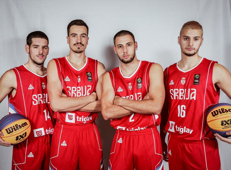 Mlada basket muška reprezentacija Srbije