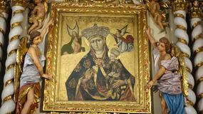 Konserwacja Matki Bożej z dmuchawcem przez konserwatorów z krakowskiego ASP