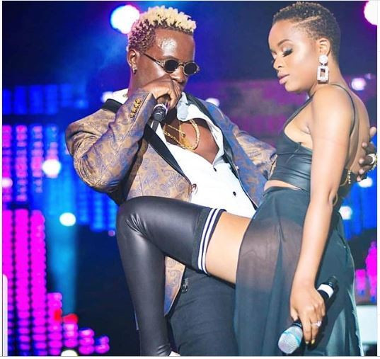 Willy Paul and Nandy raunchy dance causes a stir